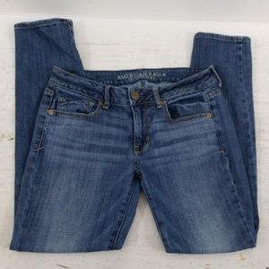 ❤AMERICAN EAGLE OUTFITTERS SKINNY JEANS, size 6S
